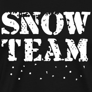 Snow Team, Winter Sports, Skiing, Snowboarding,  T - Men's Premium T-Shirt