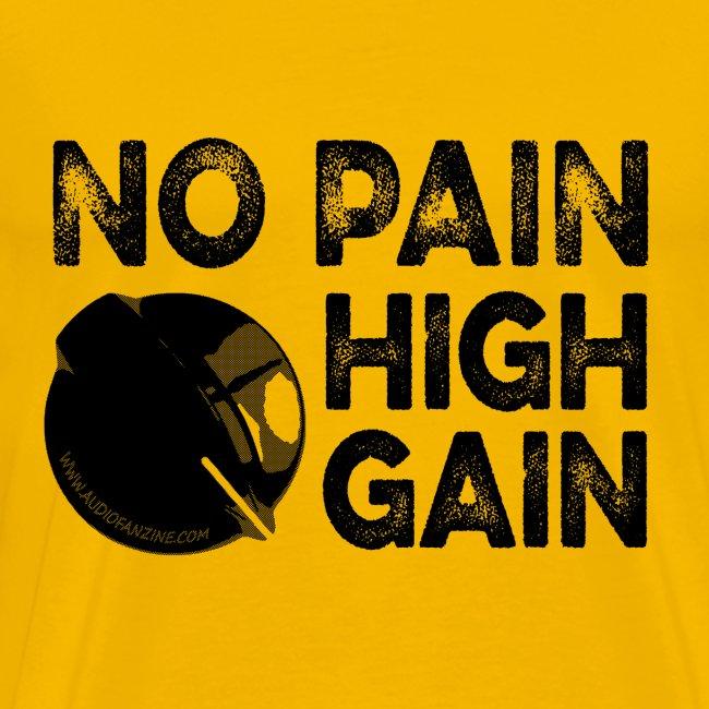 no pain, high gain! (Man)