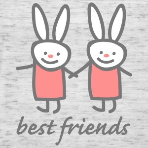 best friends Tops - Women's Tank Top by Bella