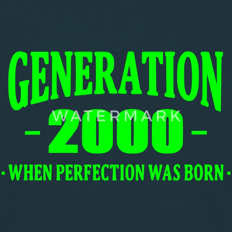 Generation 2000 Tee shirts - T-shirt Homme