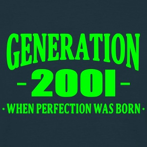 Generation 2001 T-shirts - Herre-T-shirt