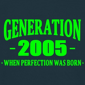 Generation 2005 T-shirts - Herre-T-shirt