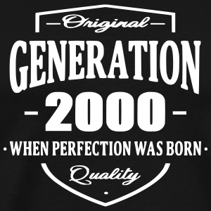 Generation 2000 T-Shirts - Men's Premium T-Shirt
