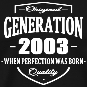 Generation 2003 T-Shirts - Men's Premium T-Shirt
