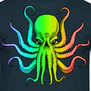 Rainbow Cthulhu T-Shirts - Men's T-Shirt