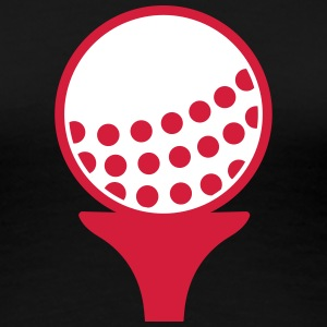 Golfball T-Shirts - Frauen Premium T-Shirt