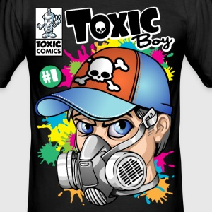 Toxic boy - Männer Slim Fit T-Shirt