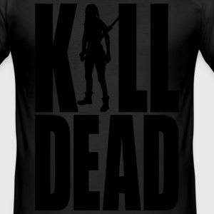 Kill Dead - Männer Slim Fit T-Shirt