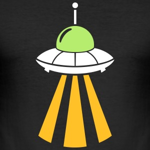 UFO T-Shirts - Männer Slim Fit T-Shirt