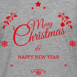 Merry Christmas and a happy new year Long sleeve shirts - Men's Premium Longsleeve Shirt