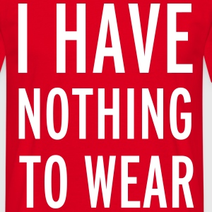 Nothing To Wear T-shirts - Mannen T-shirt