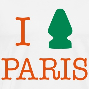 I love Paris... - T-shirt Premium Homme