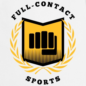 Full contact sport, martial arts, MMA Kookschorten - Keukenschort