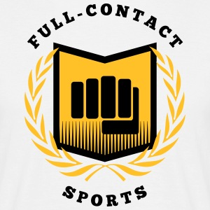 Full contact sport, martial arts, MMA T-Shirts - Men's T-Shirt