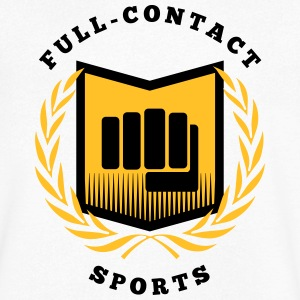 Full contact sport, martial arts, MMA T-Shirts - Men's V-Neck T-Shirt