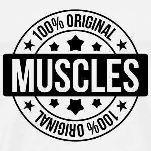 100% Muscles Tee shirts - T-shirt Premium Homme