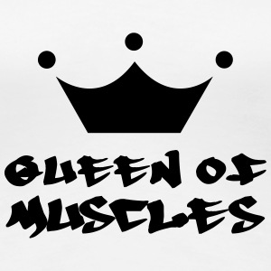 Queen of Muscles Tee shirts - T-shirt Premium Femme
