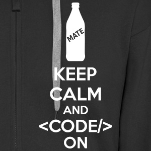 Keep Calm And Code On Sweat-shirts - Veste à capuche Premium Homme