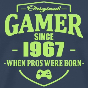 Gamer Since 1967 T-skjorter - Premium T-skjorte for menn