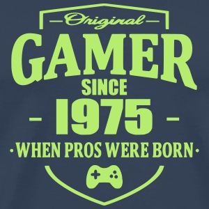 Gamer Since 1975 T-skjorter - Premium T-skjorte for menn