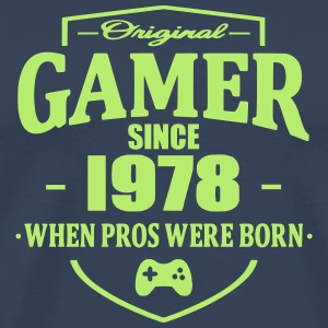 Gamer Since 1978 T-skjorter - Premium T-skjorte for menn