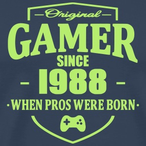Gamer Since 1988 T-skjorter - Premium T-skjorte for menn