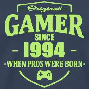 Gamer Since 1994 T-shirts - Herre premium T-shirt