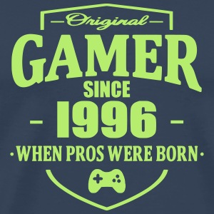 Gamer Since 1996 T-skjorter - Premium T-skjorte for menn