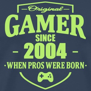 Gamer Since 2004 T-skjorter - Premium T-skjorte for menn