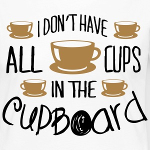 I don't have all cups in the cupboard Langarmshirts - Frauen Premium Langarmshirt