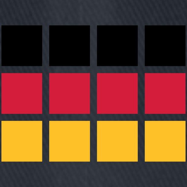 Spreeshirt Berlin Alternative Deutschland Flagge Flexfit