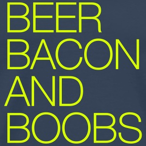 Beer, Bacon and Boobs T-Shirts - Men's Premium T-Shirt
