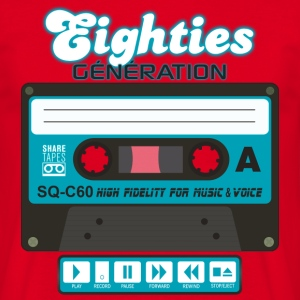 cassette audio eighties génération Tee shirts - T-shirt Homme