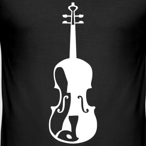 Violine Musikinstrument 563 T-Shirts - Männer Slim Fit T-Shirt