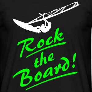 Rock the Board - Surfer T-Shirts - Männer T-Shirt