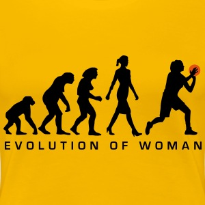 evolution_of_woman_bsketball_112014_a_2c T-Shirts - Frauen Premium T-Shirt