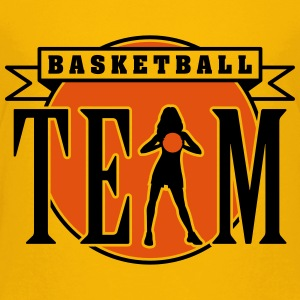 basketball_woman_team_112014_b_2c T-Shirts - Teenager Premium T-Shirt