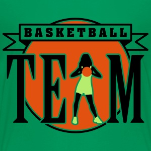 basketball_woman_team_112014_c_3c T-Shirts - Teenager Premium T-Shirt