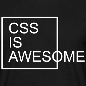 CSS Is Awesome  T-Shirts - Männer T-Shirt