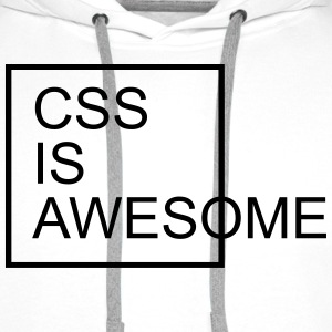 CSS Is Awesome  Bluzy - Bluza męska Premium z kapturem