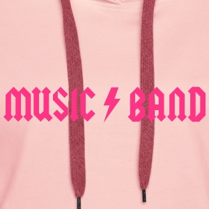 Generic Music Band Sweat-shirts - Sweat-shirt à capuche Premium pour femmes