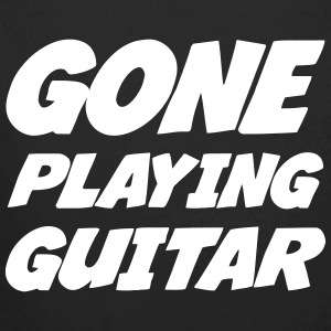 Gone Playing Guitar Hoodies - Longlseeve Baby Bodysuit