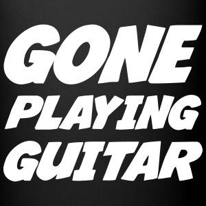 Gone Playing Guitar Mugs & Drinkware - Full Colour Mug