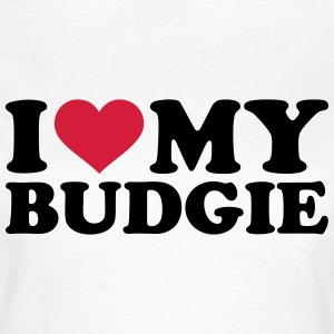 I love my budgie T-Shirts - Frauen T-Shirt