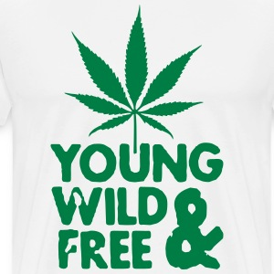 young wild and free weed leaf