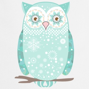 A snow owl  Aprons - Cooking Apron