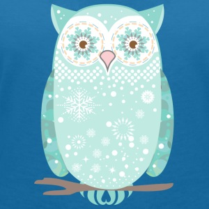 A snow owl T-Shirts - Women's V-Neck T-Shirt