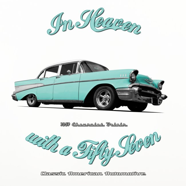 Coasters (set of 4) | In hhHeaven with a 57  | Classic American Automotive