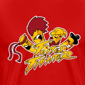 Frites Fighter - T-shirt Premium Homme