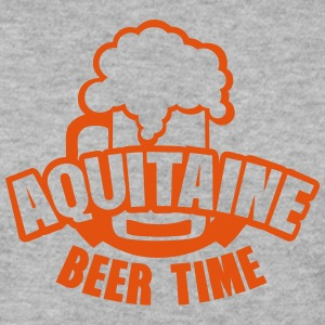 aquitaine beer time alcool biere humour Sweat-shirts - Sweat-shirt Homme